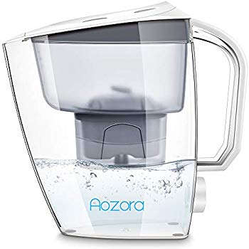 Aozora Large 18 Cup Everyday Premium Alkaline Water Filter Pitcher