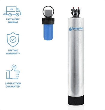 SpringWell's future soft salt free water softener system