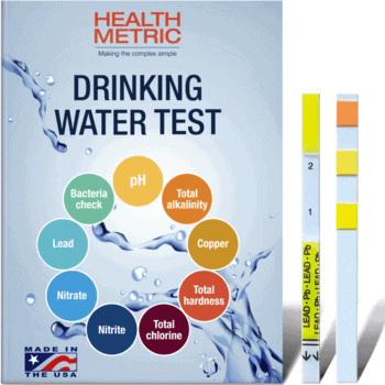 Home water testing strips